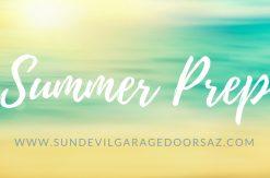 summer garage prep