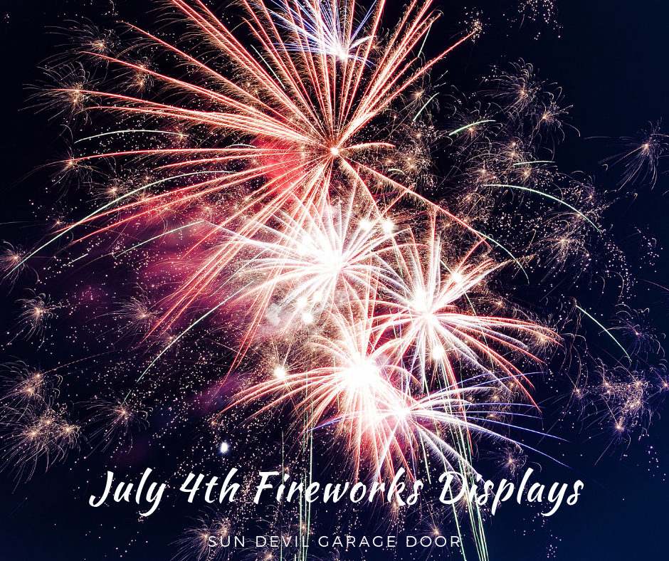 July 4th Fireworks Displays