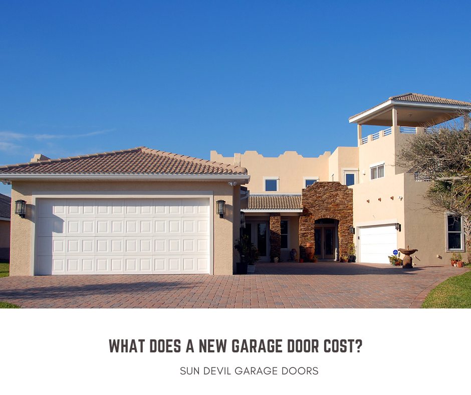 new garage door cost